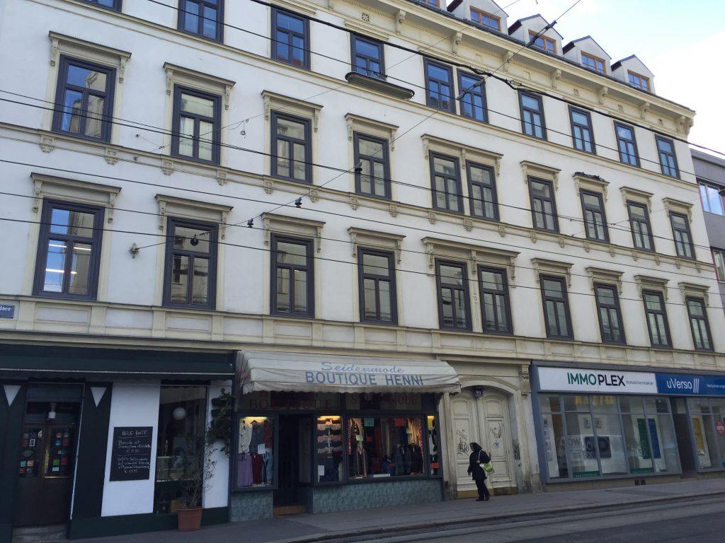 Hausfront 8, Josefstädter Straße 91